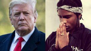 A $ AP Rocky acusado oficialmente de asalto en el caso de una pelea en Suecia, Trump exige su liberación